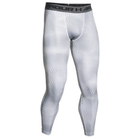 Under Armour Heatgear Armour Compression Tights - Men's - White / Grey