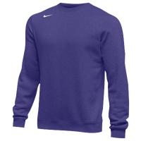 Nike Team Club Crew Fleece - Men's - Purple / Purple