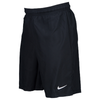 Nike Team Laser Woven Shorts - Men's - All Black / Black
