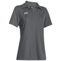 Under Armour Team Performance Polo - Women's - Grey / Grey