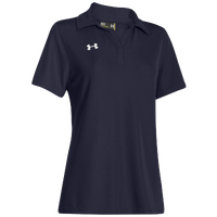 Under Armour Team Performance Polo - Women's - Navy / Navy