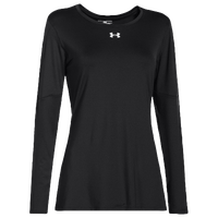 Under Armour Team Block Party L/S Jersey - Women's - Black / Black