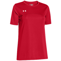 Under Armour Team Golazo Jersey - Women's - Red / Red