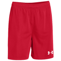 Under Armour Team Golazo Shorts - Women's - Red / Red