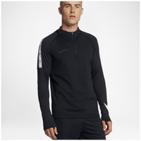 Nike Breathe Squad 1/2 Zip Top - Men's - Black / White