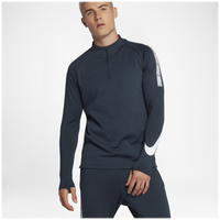 Nike Breathe Squad 1/2 Zip Top - Men's - Navy / White