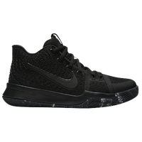 Nike Kyrie 3 - Boys' Grade School -  Kyrie Irving - All Black / Black