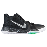 Nike Kyrie 3 - Boys' Grade School - Black / White