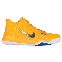 Nike Kyrie 3 - Boys' Grade School -  Kyrie Irving - Yellow / White