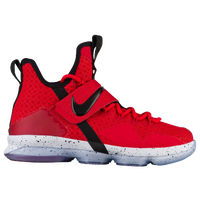 Nike LeBron XIV - Boys' Grade School -  Lebron James - Red / Black