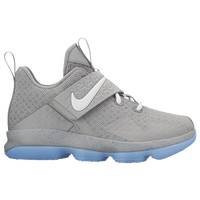 Nike LeBron XIV - Boys' Preschool -  Lebron James - Grey / White