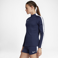 Nike Academy 1/2 Zip Top - Women's - Navy / White