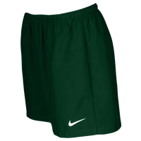 Nike Team Laser Woven Shorts - Women's - Dark Green / Dark Green