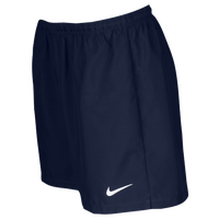 Nike Team Laser Woven Shorts - Women's - Navy / White