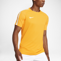 Nike Breathe Squad Short Sleeve Top - Men's - Gold / White