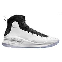 Under Armour Curry 4 - Boys' Grade School -  Stephen Curry - Black / White