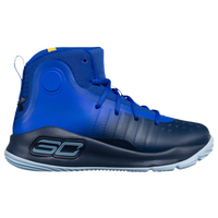 Under Armour Curry 4 - Boys' Preschool -  Stephen Curry - Blue / Navy