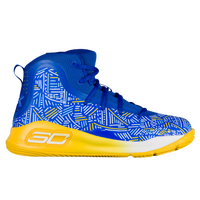 Under Armour Curry 4 - Boys' Preschool -  Stephen Curry - Blue / Yellow
