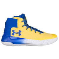 Under Armour Curry 3Zero - Boys' Grade School - Yellow / Blue