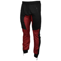 American Stitch So Meshy Joggers - Men's - Black / Red