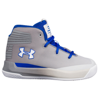 Under Armour Curry 3Zero - Boys' Toddler -  Stephen Curry - Grey / Blue