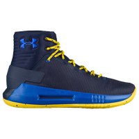 Under Armour Drive 4 - Boys' Grade School - Navy / Yellow
