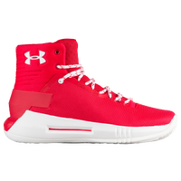 Under Armour Drive 4 - Boys' Grade School - Red / White