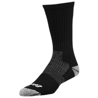 Eastbay EVAPOR Performance Crew Socks - Black / Black