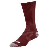Eastbay EVAPOR Performance Crew Socks - Maroon / Maroon