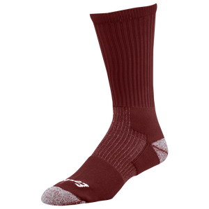Eastbay EVAPOR Performance Crew Socks - Dark Maroon