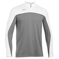 Under Armour Stock Lottery L/S Shooter's Shirt - Men's - Grey / White