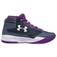 Under Armour Jet 2017 - Girls' Preschool - Grey / White