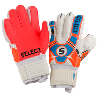 Select 33 All Around Goalie Gloves - Adult - Orange / Blue