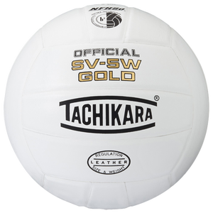 Tachikara SV-5W Gold Volleyball - White