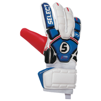 Select 77 Slim Goalie Gloves - Adult - Blue / Red