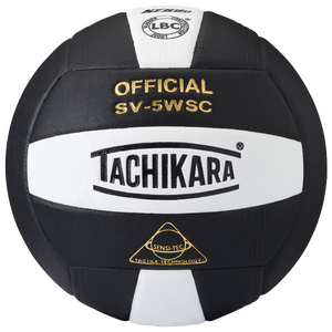 Tachikara SV-5WSC Volleyball - Black/White