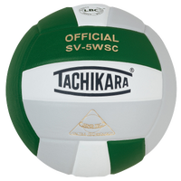 Tachikara SV-5WSC Volleyball - Dark Green / Silver