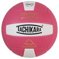 Tachikara SV-5WSC Volleyball - Pink / White