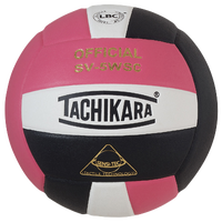 Tachikara SV-5WSC Volleyball - Pink / Black