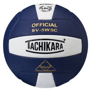 Tachikara SV-5WSC Volleyball - Navy/White