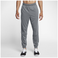 Nike Lightweight Fleece Taper Logo Pants - Men's - Grey / Grey