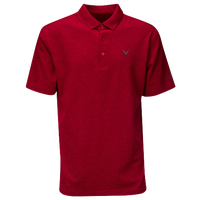 Callaway Heather Golf Polo - Men's - Red / Red