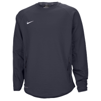 Nike Team Hybrid BP Crew - Men's - Grey / Grey