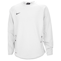 Nike Team Hybrid BP Crew - Men's - All White / White