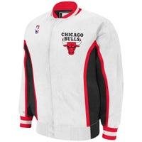 Mitchell & Ness NBA Authentic Warm-Up Jacket - Men's - Chicago Bulls - White / Red