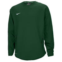 Nike Team Hybrid BP Crew - Men's - Dark Green / Dark Green