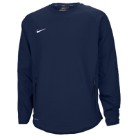 Nike Team Hybrid BP Crew - Men's - Navy / Navy