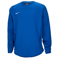 Nike Team Hybrid BP Crew - Men's - Blue / Blue