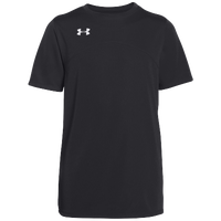 Under Armour Team Golazo Jersey - Boys' Grade School - All Black / Black