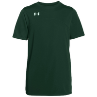 Under Armour Team Golazo Jersey - Boys' Grade School - Dark Green / Dark Green